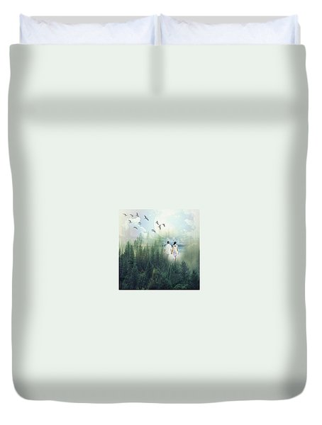You And I Duvet Cover