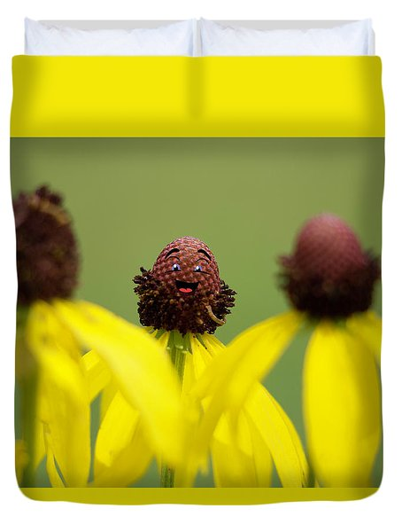Duvet Cover featuring the photograph You And Me by Joel Witmeyer