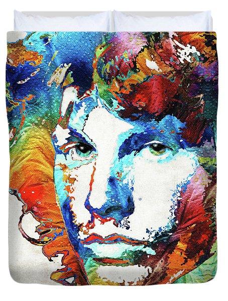 You Are Free - Jim Morrison Tribute Duvet Cover