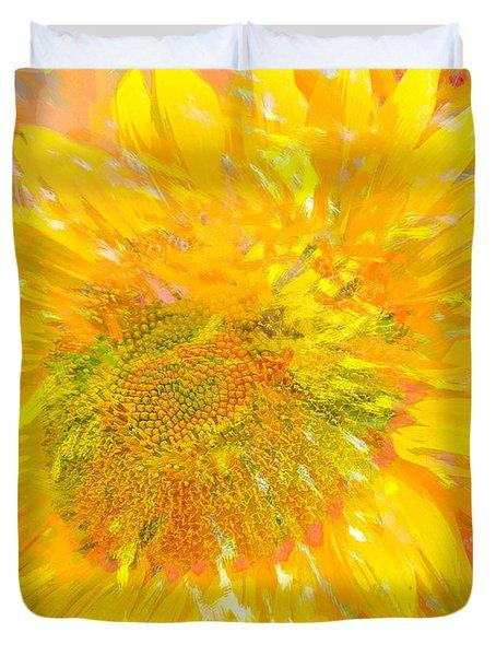 Sunflower Sunshine Duvet Cover