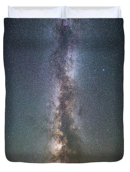You Are My Universe Duvet Cover