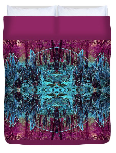 You Are The Frequency Duvet Cover