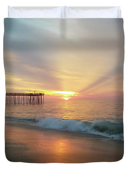 You Are The Sunrise Duvet Cover