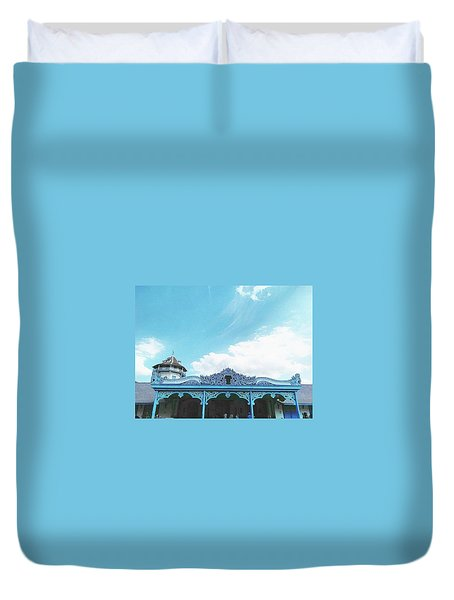 Solo Traditional Building Duvet Cover