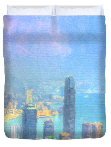 You Can Leave Hong Kong  Duvet Cover