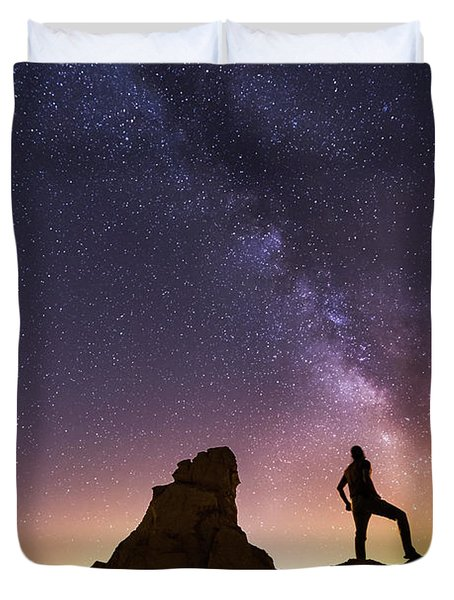 You Cant Take The Sky From Me Duvet Cover