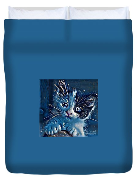 You Cuddle Wit Me  Duvet Cover