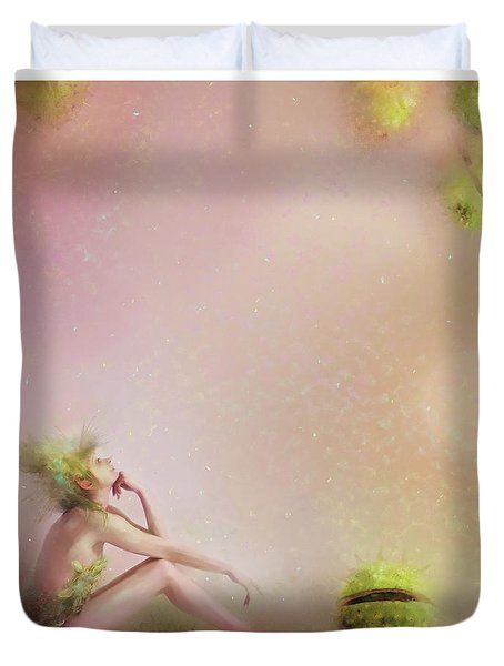 You Have To Be Fairy Patient Duvet Cover