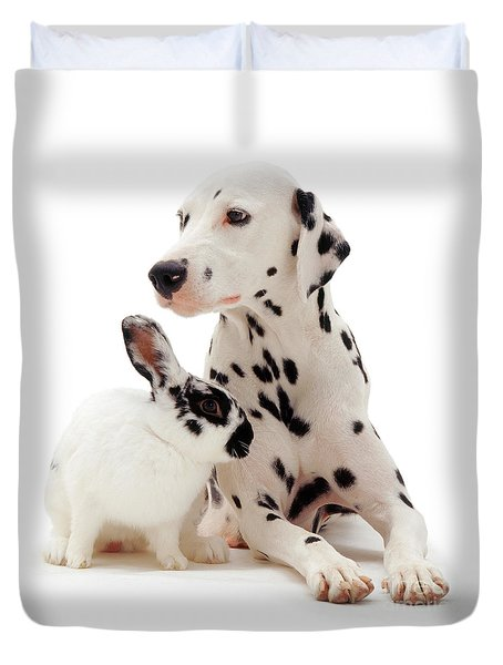 You Knocked My Spots Off Duvet Cover