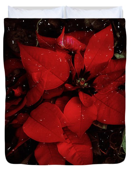 You Know It's Christmas Time When... Duvet Cover by Elaine Malott