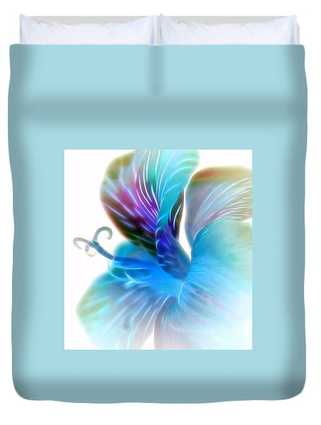 You Light Up My Life II Duvet Cover