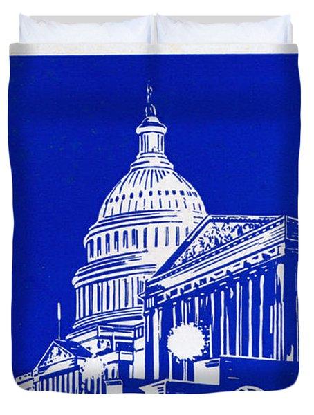 You Should See Washington Duvet Cover