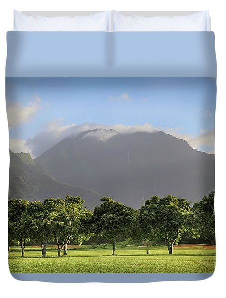 Duvet Cover featuring the photograph You Still Can Touch My Heart by Laurie Search