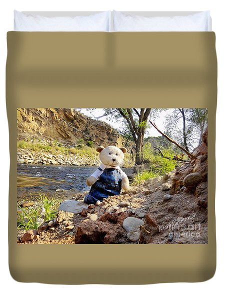 You Were Expecting Bigfoot Duvet Cover