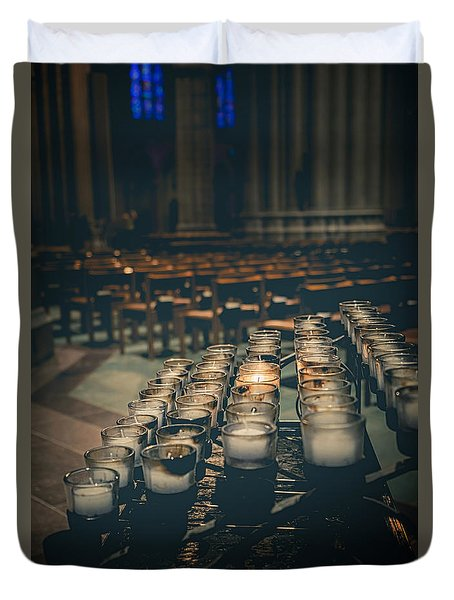 You Were There For Me Duvet Cover