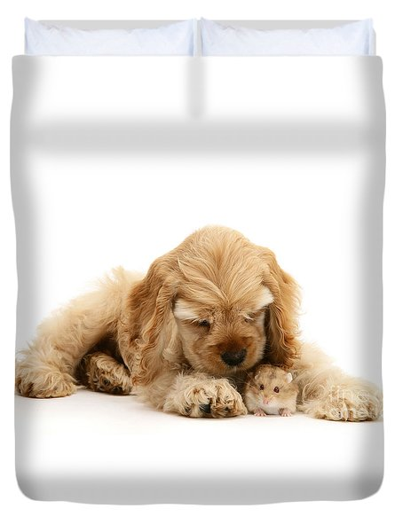You'll Be Fine, Little Guy Duvet Cover