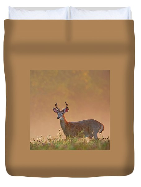 Young Buck Square Duvet Cover