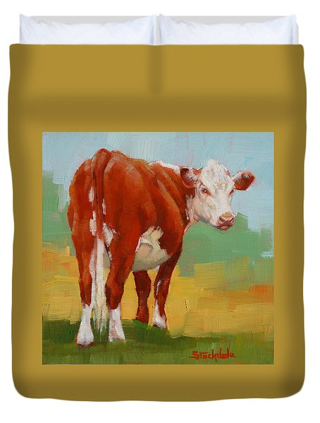 Young Cow Duvet Cover