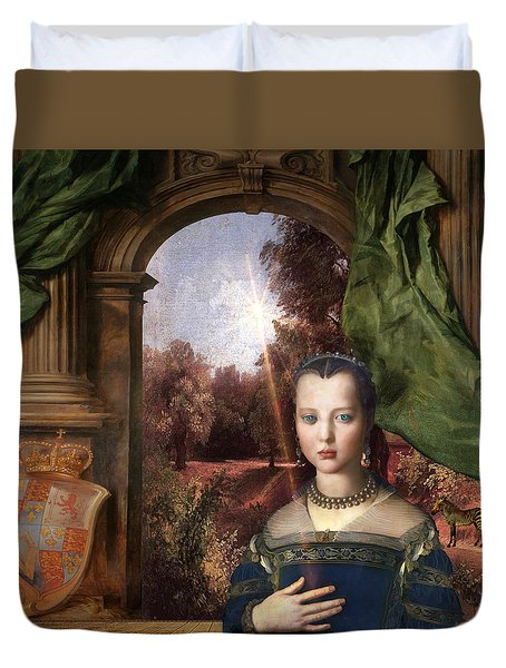Young Isla Duvet Cover
