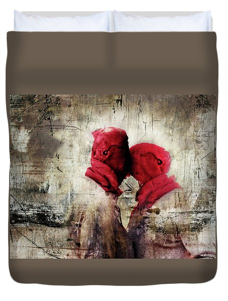 Young Lust Duvet Cover