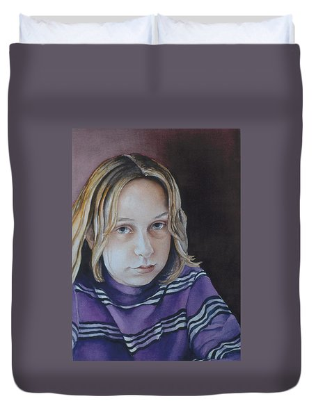 Young Mo Duvet Cover