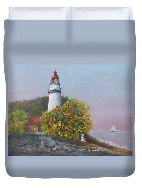 Young Sailor Duvet Cover