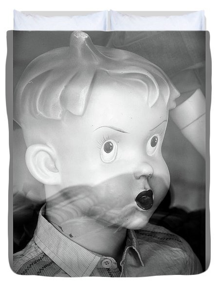 Young Willy Duvet Cover