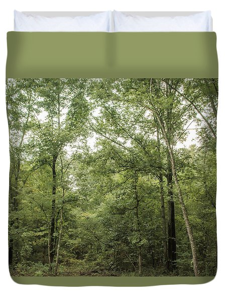 Young Woods Duvet Cover