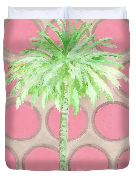 Your Highness Palm Tree Duvet Cover