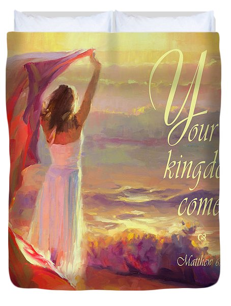 Your Kingdom Come Duvet Cover