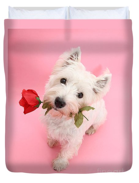 Your Valentine Every Day Duvet Cover