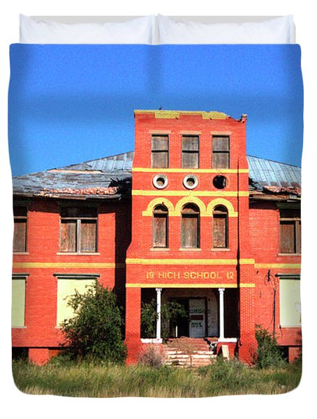 Yoyah School House Duvet Cover
