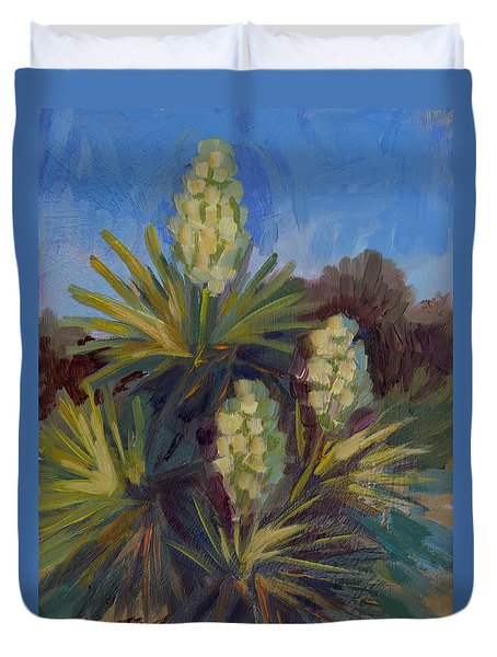 Yucca At Joshua Tree Duvet Cover