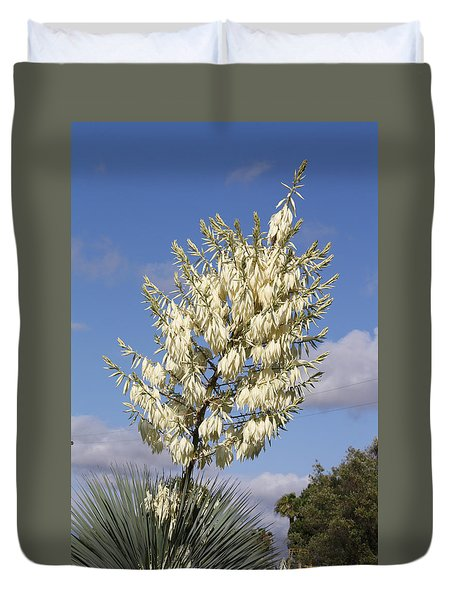 Yucca Flower Duvet Cover by Cumberland Warden