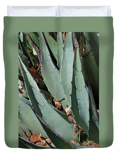 Yucca Leaves Duvet Cover