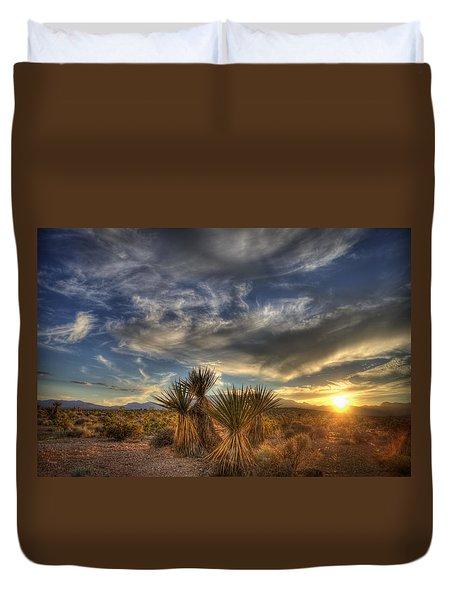 Yucca Sunset Duvet Cover