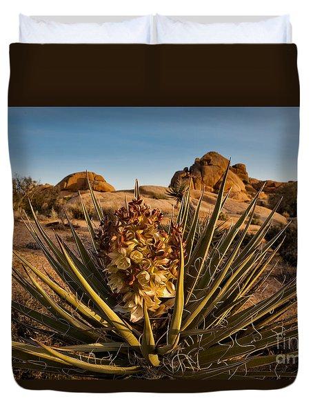 Yucca Bloom Duvet Cover