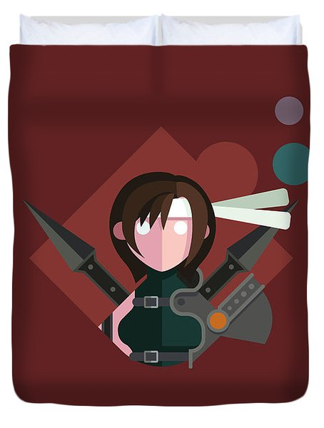 Yuffie Duvet Cover by Michael Myers