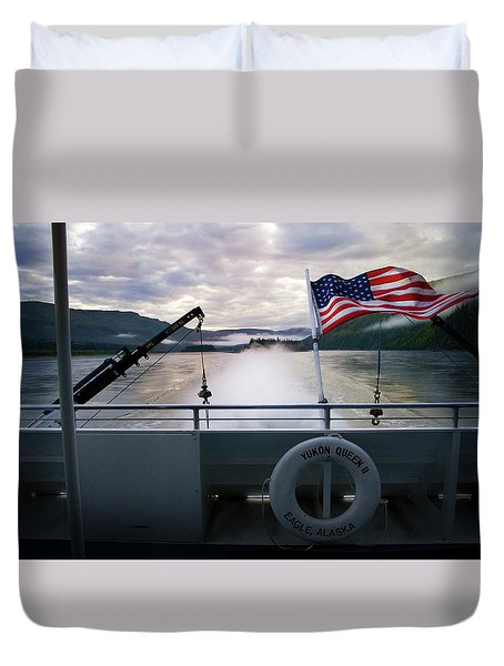 Yukon Queen Duvet Cover by Ann Lauwers