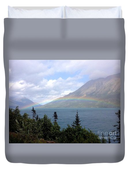 Yukon Rainbow Duvet Cover