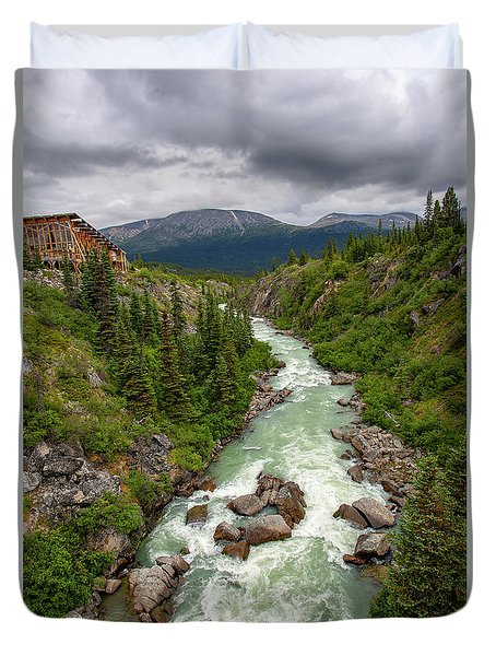 Yukon River Duvet Cover