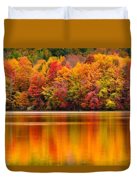 Yummy Autumn Colors Duvet Cover by Craig Szymanski