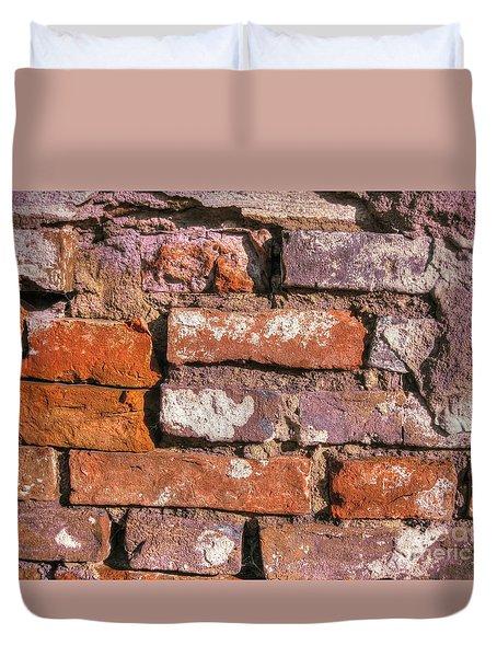 Yury Bashkin Old Wall Duvet Cover by Yury Bashkin
