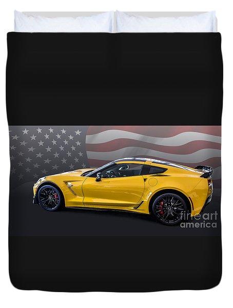 Z06 America Duvet Cover