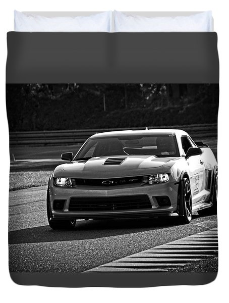 Z28 On Track Duvet Cover