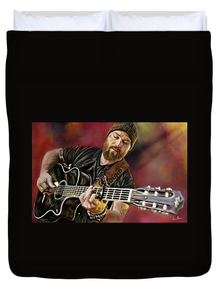 Zac Brown Duvet Cover