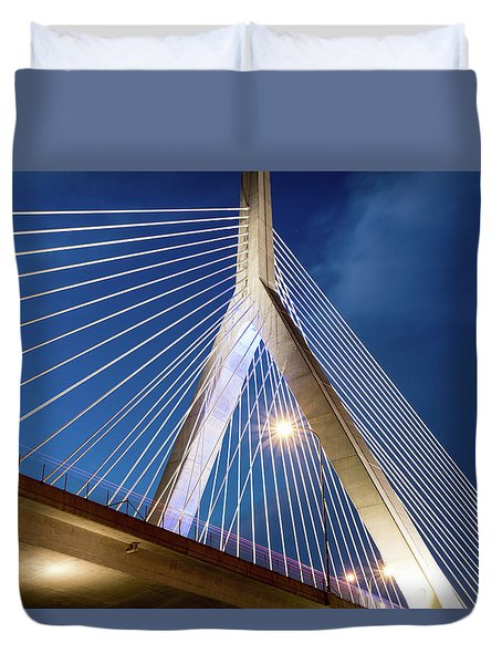 Zakim Bridge Upclose Duvet Cover