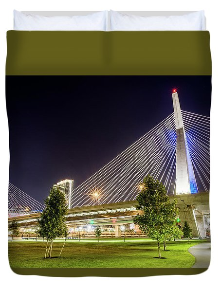 Zakim Bridge Duvet Cover
