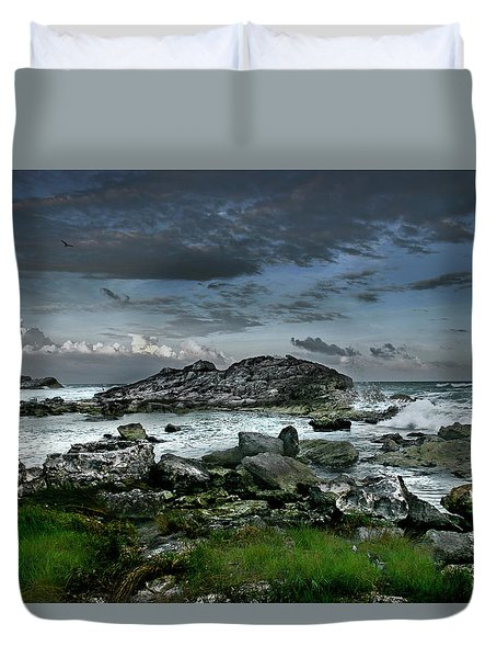 Zamas Beach #14 Duvet Cover