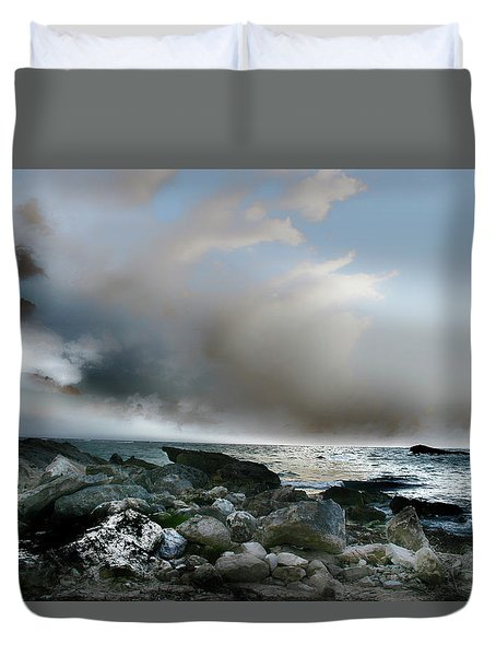 Zamas Beach #2 Duvet Cover